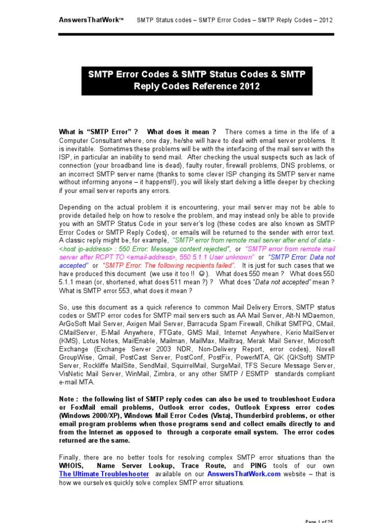 Network__3-SMTP_Server_Status_Codes_and_SMTP_Error_Codes pdf
