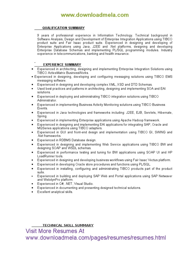 download resume with 4 years of exp docshare tips