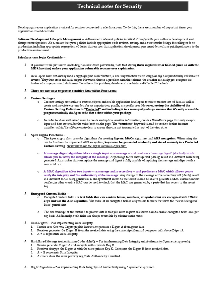 Download dev 401 salesforce certification for spring 14 docshare salesforce security notes for certification 1betcityfo Gallery