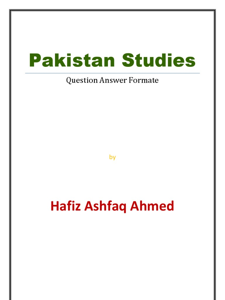 pak studies O levels pakistan studies syllabus is quite lengthy and it takes a lot of time to revise through every thing therefore, to overcome this problem gce guide has come up with a set of summarize notes to make the revision easier.