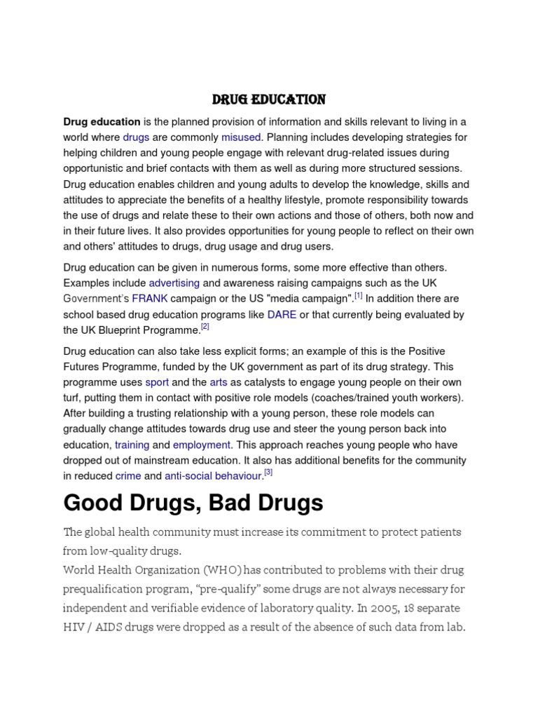 Download drug education docshare download drug education malvernweather Choice Image