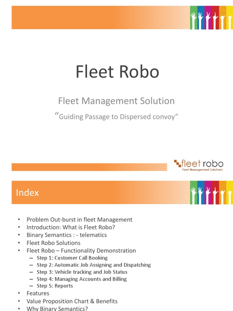 Fleet Robo - Vehicle Tracking Software Solutions - DocShare tips