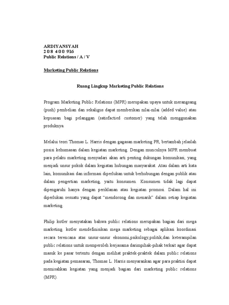 Download Target Marketing Public Relations - DocShare.tips
