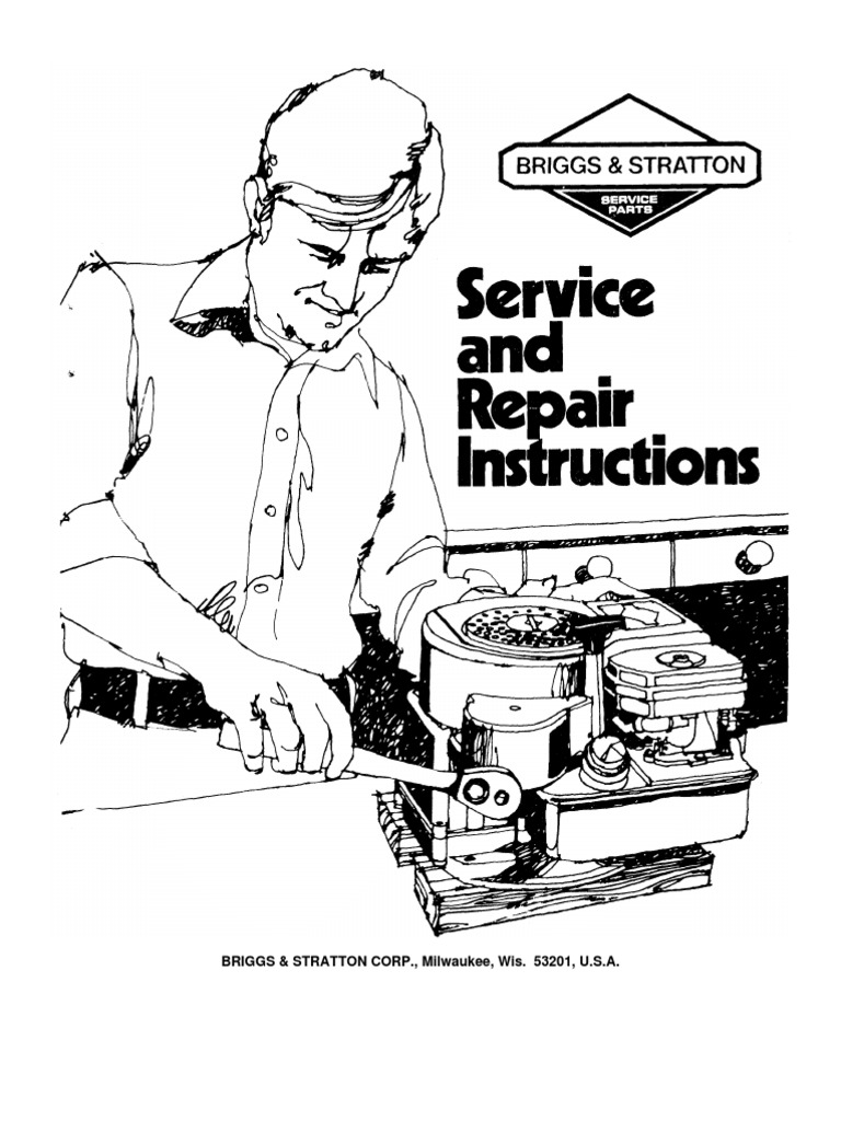 briggs stratton repair manual docshare tips rh docshare tips Briggs and  Stratton Engines Service Manual Briggs and ...