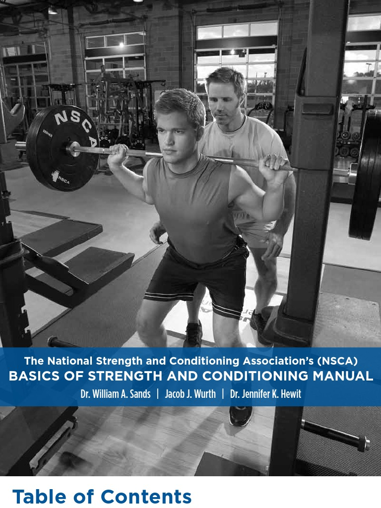 Nsca Basics Of Strength And Conditioning Manual Docshare