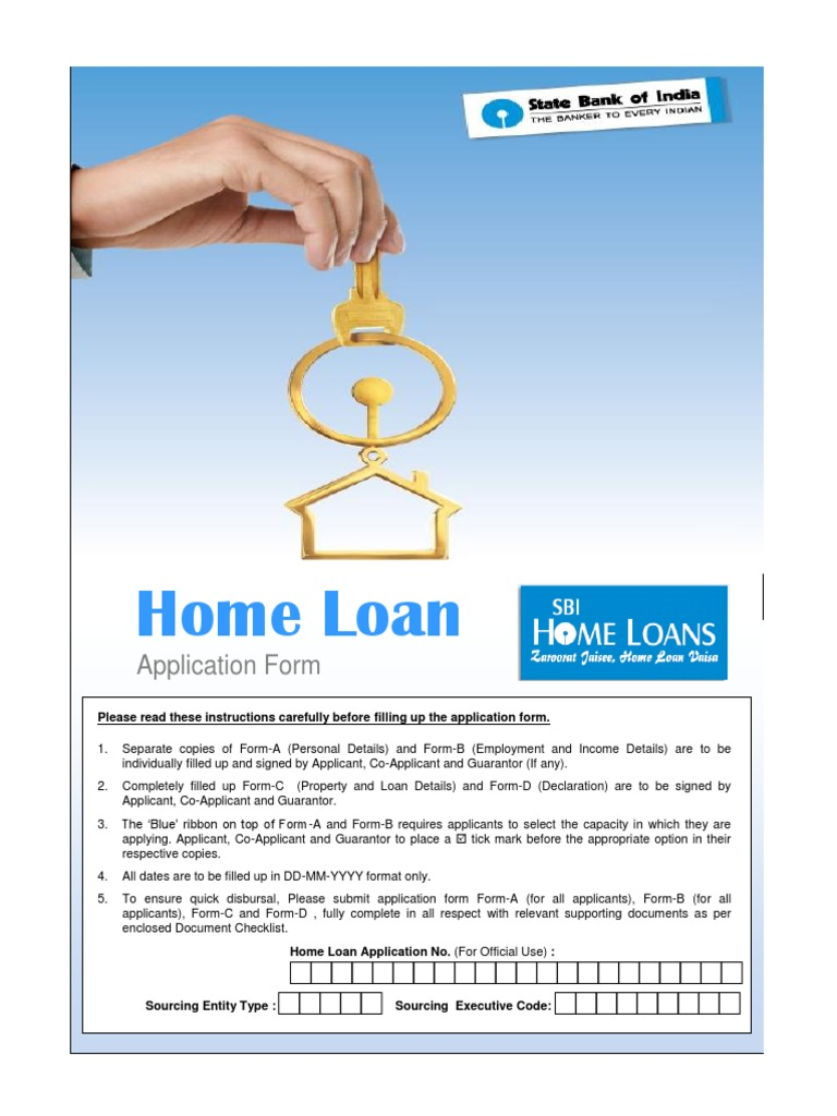 Sbi Home Loans Application Form Docshare