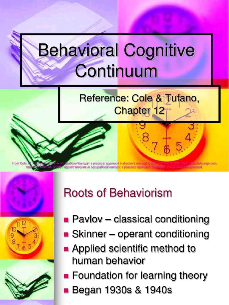 cognitive behavioral essay Essay: cognitive-behavior therapy (cbt) cognitive-behavior therapy (cbt) is based on the theory that by changing by habitual and behaviors, one can be able to control and improve the symptoms of the condition.