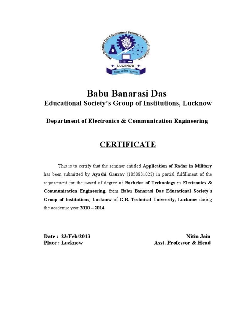 Certificate sample for seminar choice image certificate design certificate sample for seminar image collections certificate yadclub Images