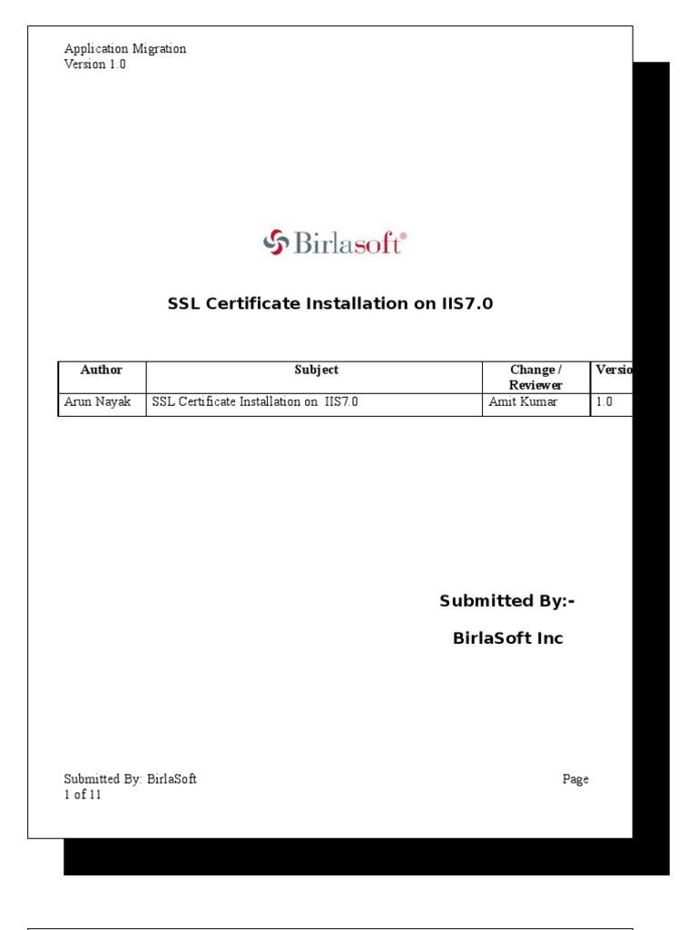 Download Kaviza Vdi In A Box Ssl Certificate Installation Docshare