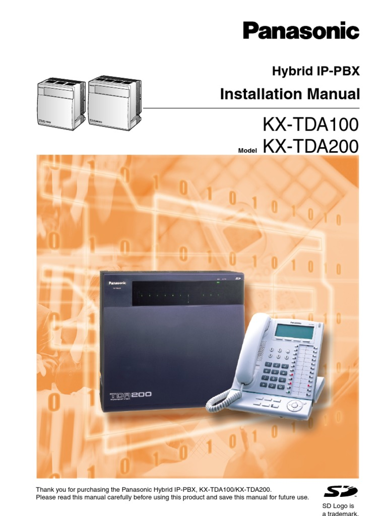 download install manual kx tda100 docshare tips rh docshare tips panasonic tda100d installation manual kx-tda100d installation manual pdf