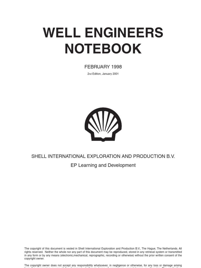 Well Engeneers Notebook - DocShare tips