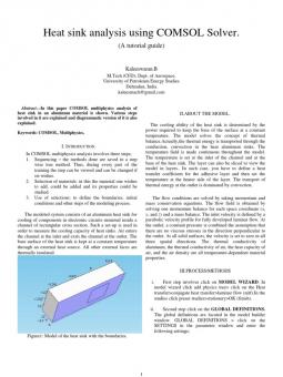 thesis fin heat transfer 1thermal analysis of convection and radiation in finned heat thermal analysis of convection and radiation the heat transfer within the fin is.