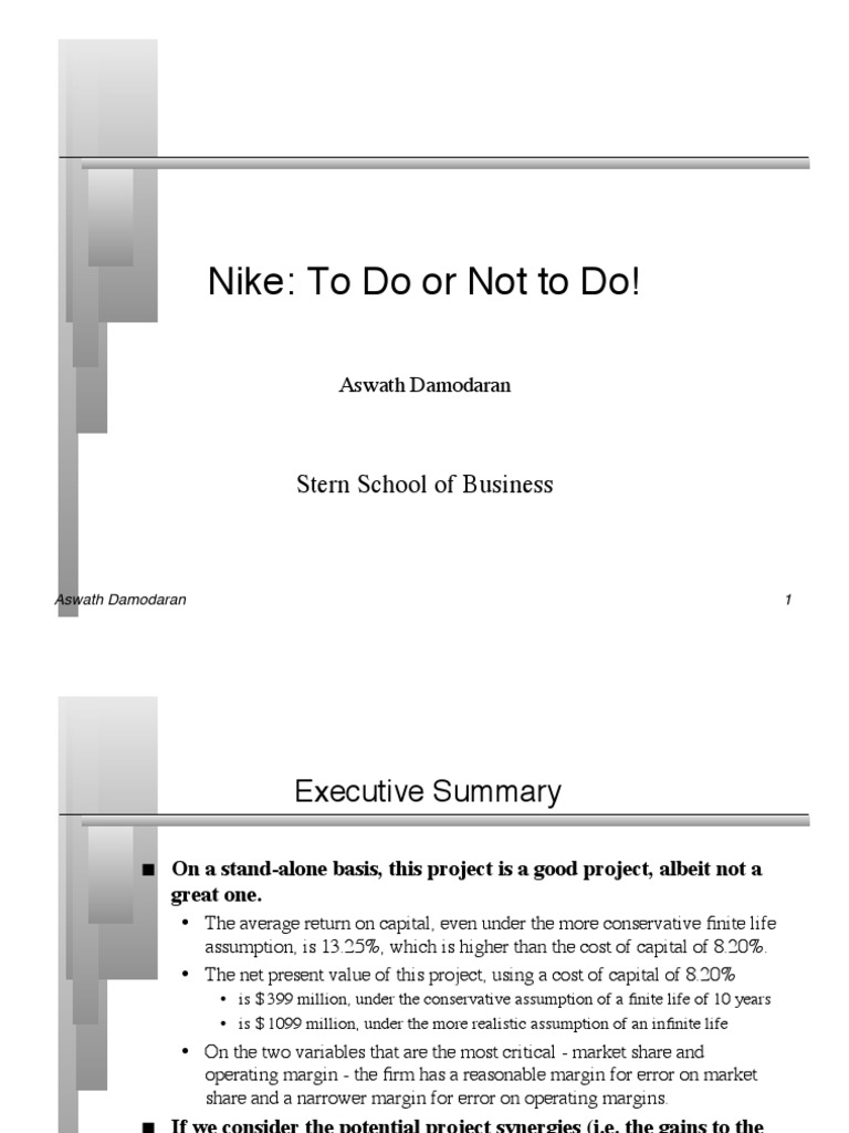 analysis of nike inc essay Nike's apparel situation analysis (essay sample) instructions: this is a situation analysis essay about nike's company the chosen sbu is nike's apparel in soccer i.