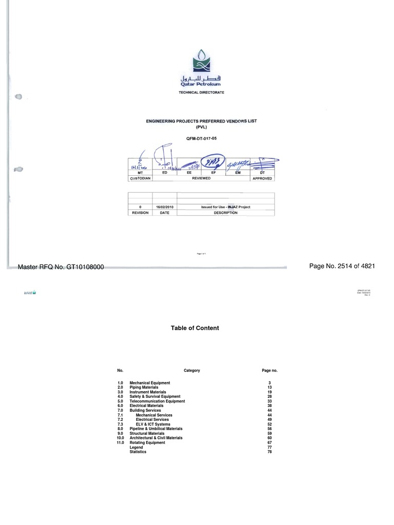 Qatar Petroleum Preferred Vendors List Diagram Potain Tower Crane Specification Software Block Basic