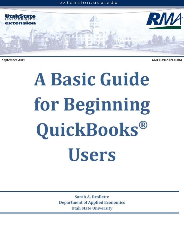 Manual Quickbooks Pdf PDF Download