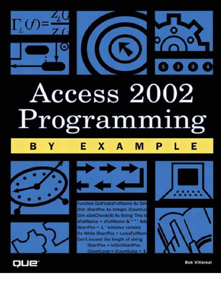 Acces 2002 - DocShare tips