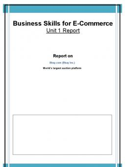 business skills for ecommerce