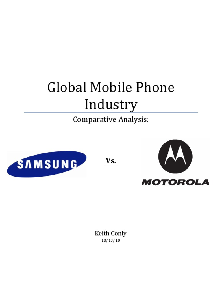 mobile phone industry analysis Cell phone industry analysis the globalization of cell phones expansion of technology has drastically taken over our world, one mobile about using mobile phones in the present thesis: using mobile phones in the present is a popular for all ages and there are many advantages to user.