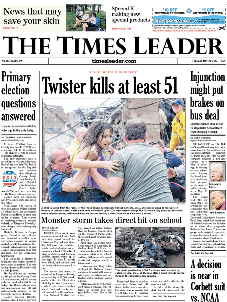 Times Leader 05-21-2013 - DocShare.tips 23f764a5dd