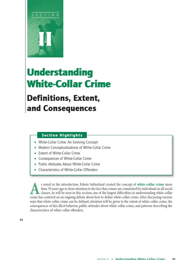 describe how society defines crime