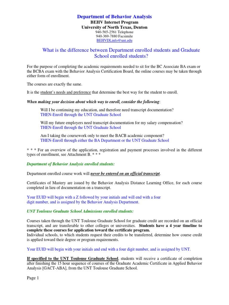 General Behavior Analysis Online Information - DocShare tips