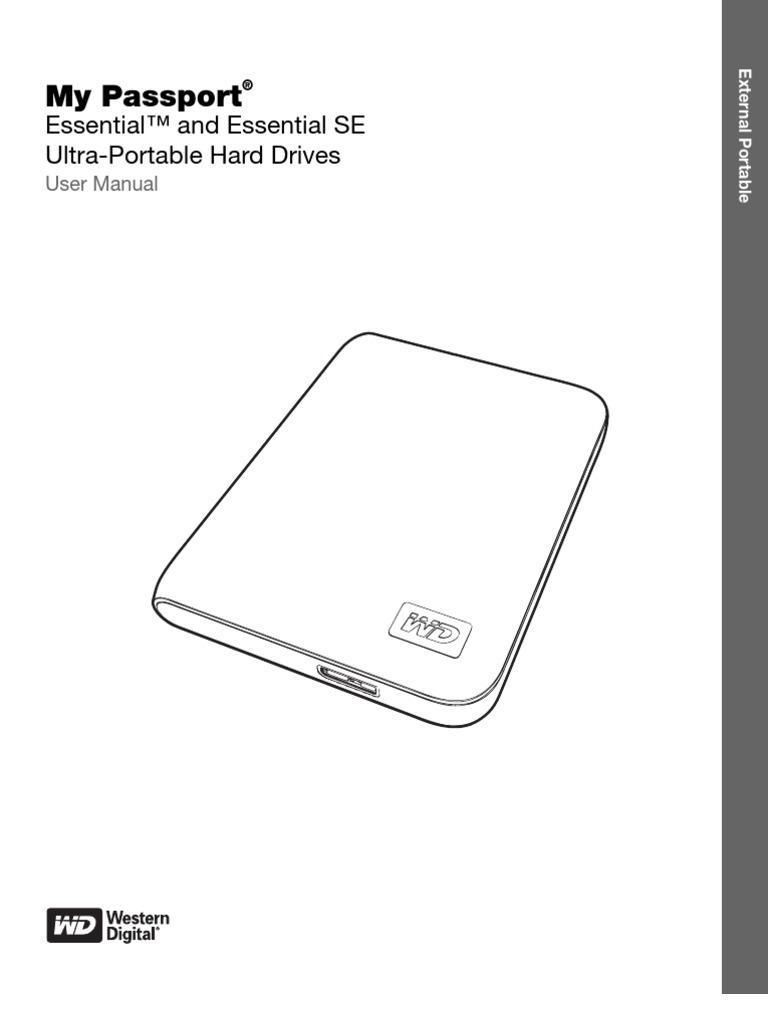 My passport essential benutzerhandbuch