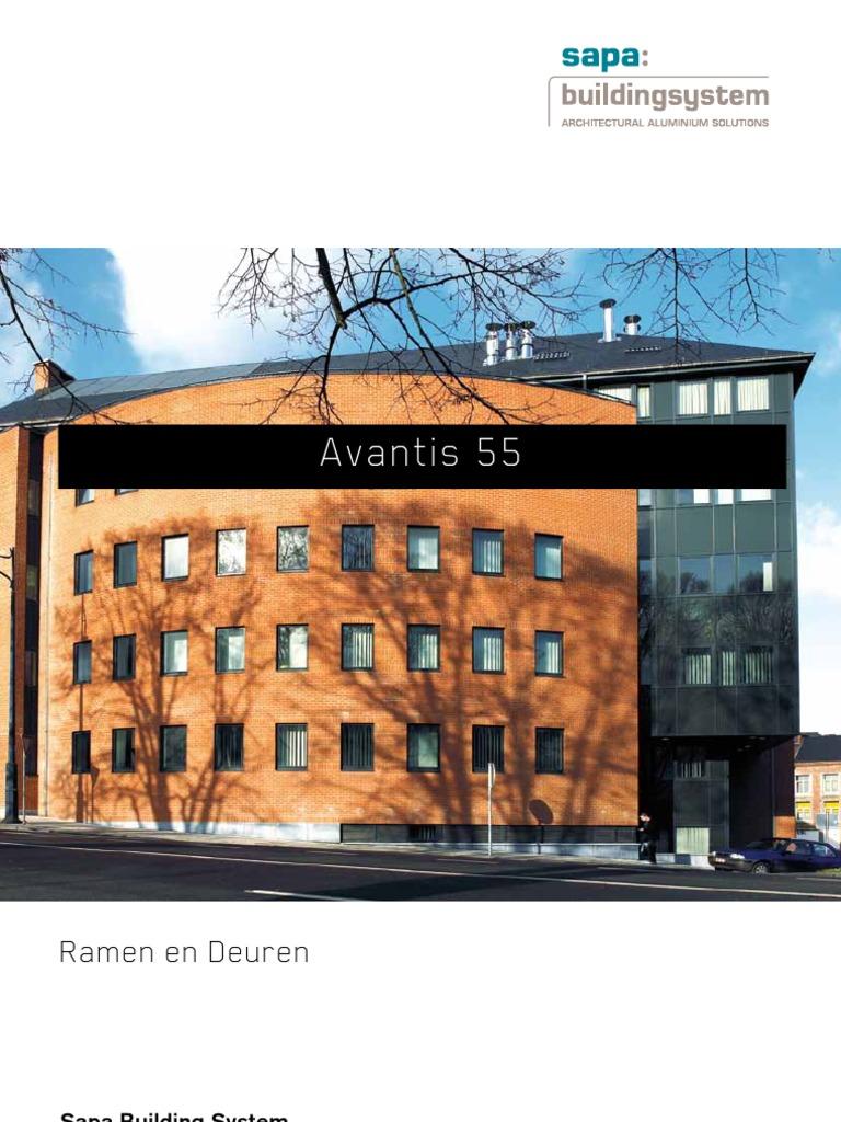 Avantis 55 aluminium ramen en deuren - Sapa Building System  sc 1 st  DocShare.tips & Download Avantis 55 aluminium windows and doors - Sapa Building ...