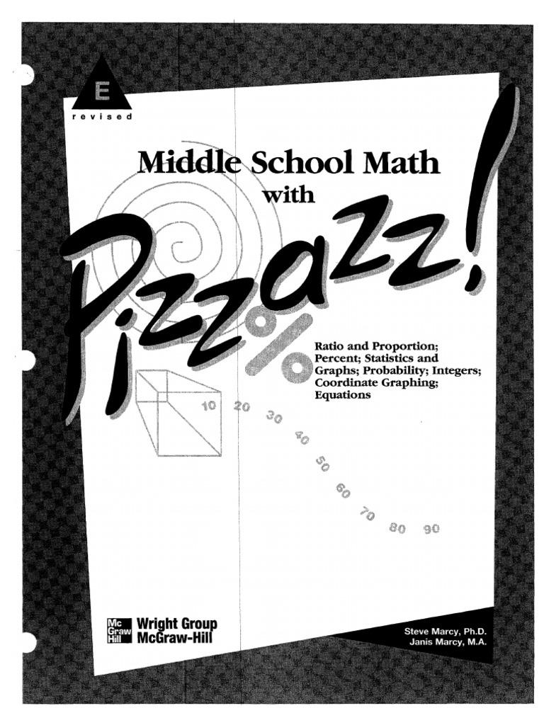 Pizzazz Math Worksheets Pdf | worksheet example