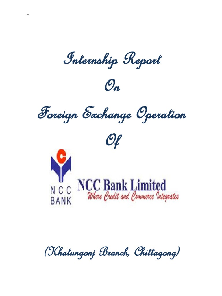 report on foreign exchange activities of standard bank ltd essay It's important to point out that the purpose of financial accounting is not to report of long-term debt report to the securities and exchange.