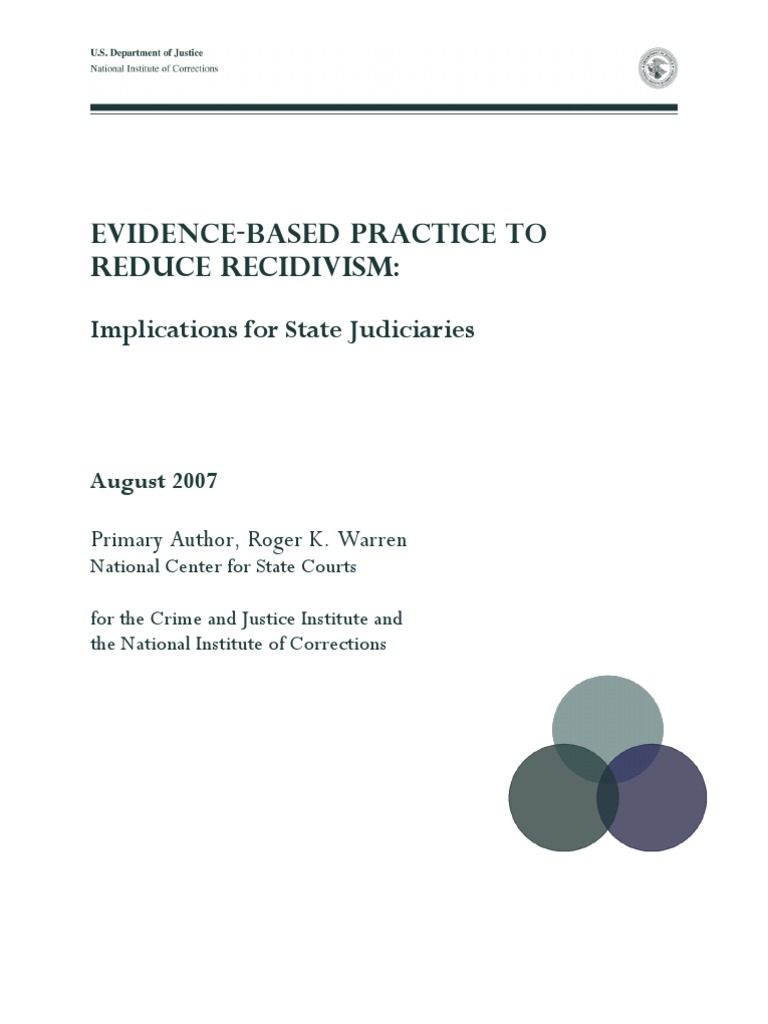 the effectiveness of the aboriginal justice strategy in reducing recidivism rates among the canadian The prediction of recidivism with aboriginal offenders: a theoretically informed aboriginal over-representation among prediction of recidivism with aboriginal.