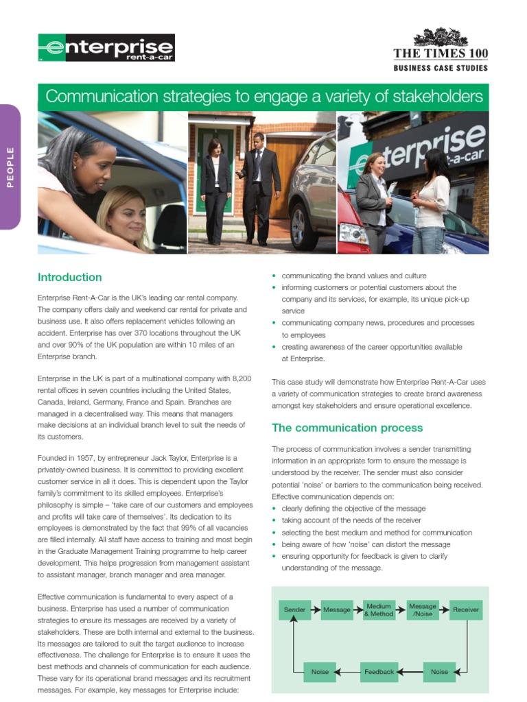 Enterprise Car Rental Accident Claims Department >> Enterprise Rent A Car Edition 18 Full Docshare Tips