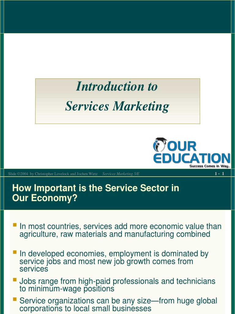 the important sectors in service marketing The role of service marketing mix and its impact on marketing audit in engineering and technical service corporations strictly as per the compliance and regulations of: service marketing mix as7p is used to consider the service marketing.