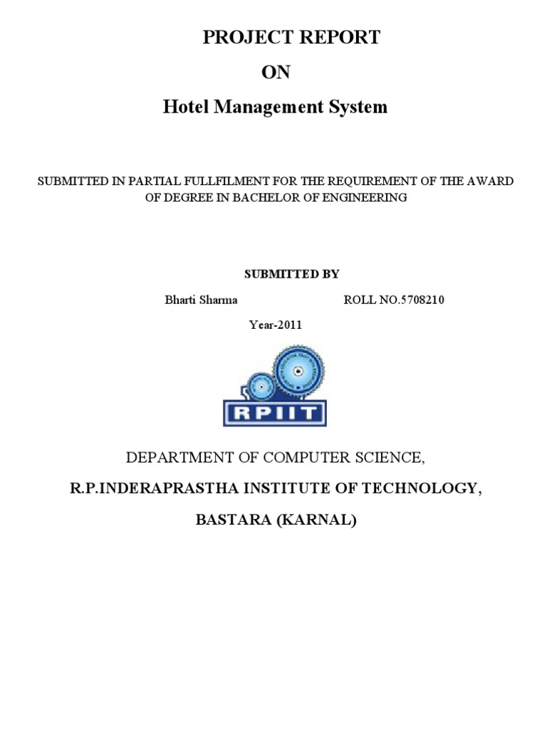 Download Report Full Delta Hotel - DocShare tips