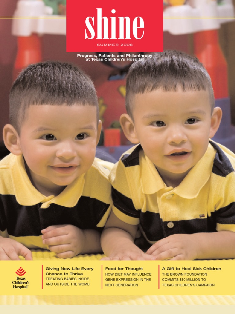 shine a publication of texas children s hospital docshare tips