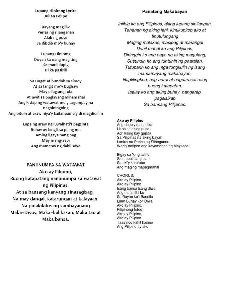 top makabayan songs