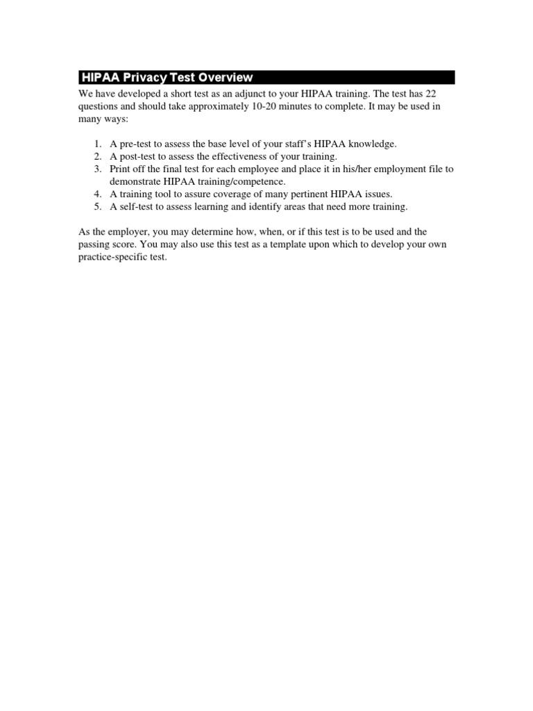 Hipaa Test Key Certificate Docshare