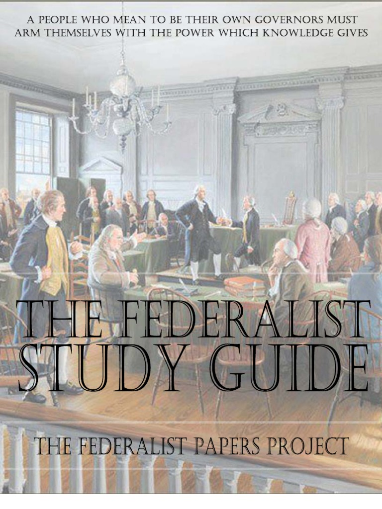 comparison between two political papers the federalist no 10 by james madison and the tyranny of the Anti-federalist vs federalist debate  a sort of ideological war raged between the two factions,  —james madison in federalist paper no 14.