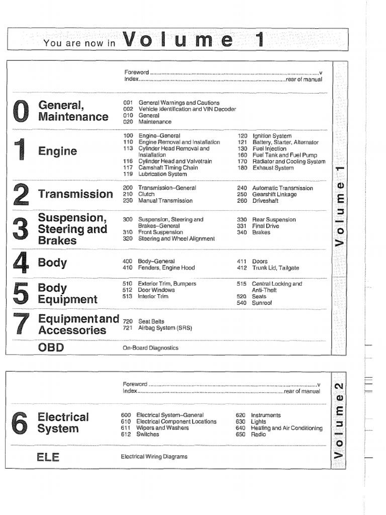 Download Service Manual For Bmw E39 German Alternator Wiring Diagram 5 Series Repair 1997 2002 Info