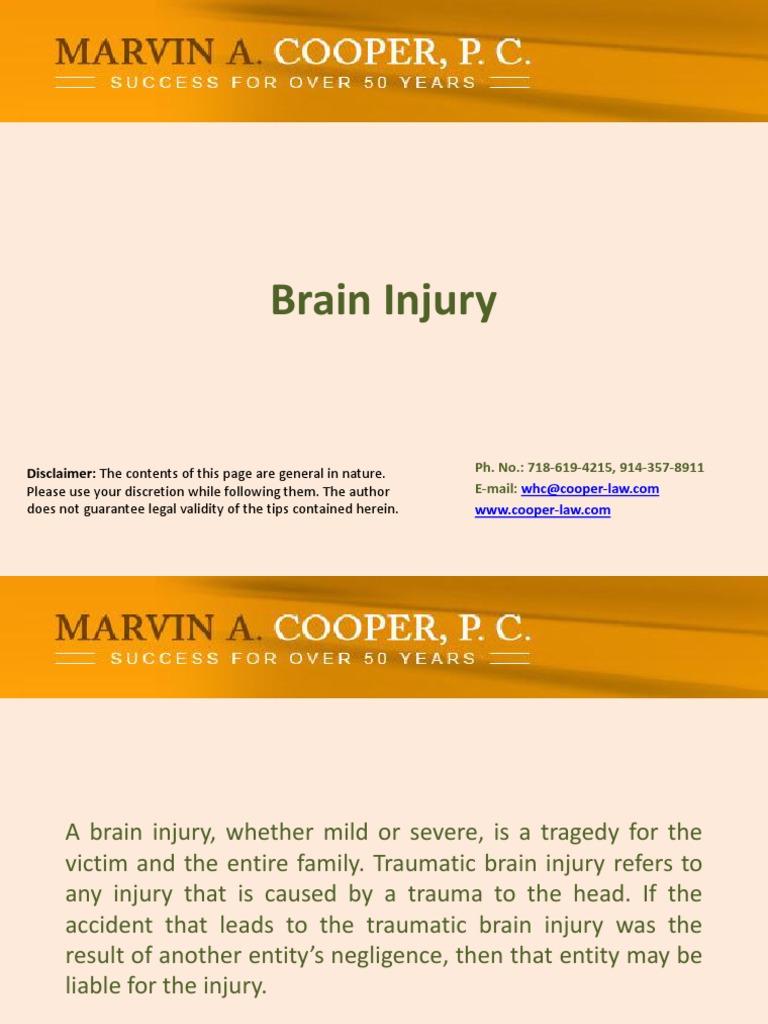 Download MossRehab's Drucker Brain Injury Center Beneficiary