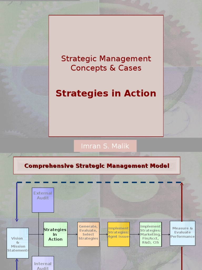 marketing management strategies used by chen one