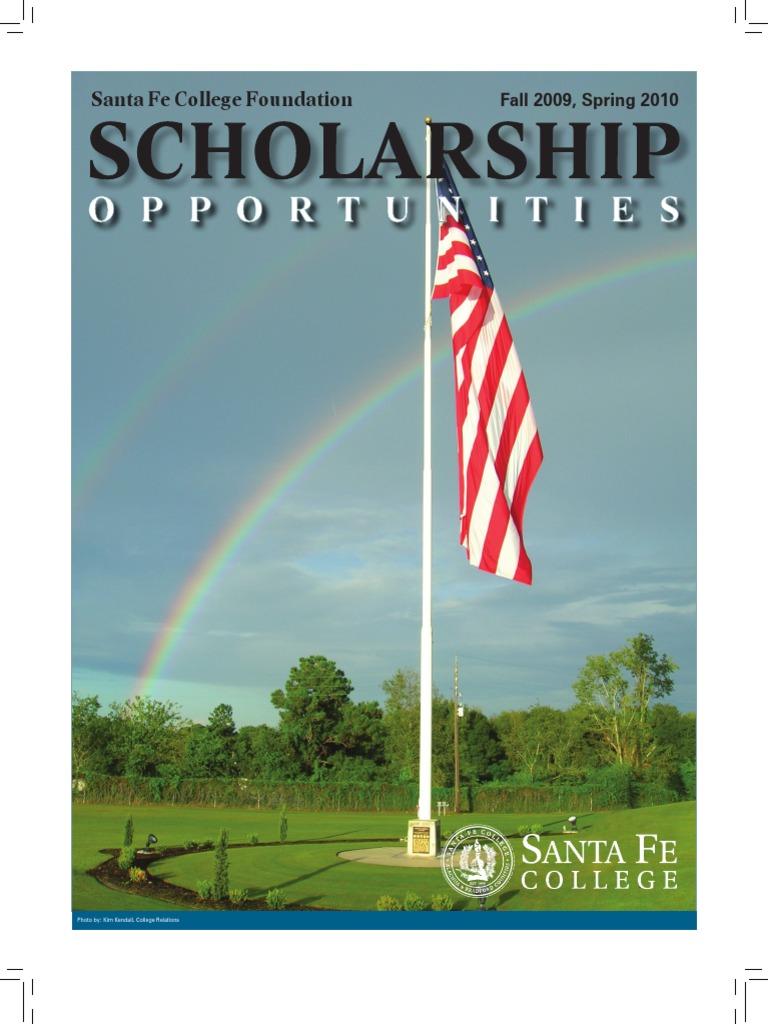 Santa Fe College Foundation Scholarships 2009 10