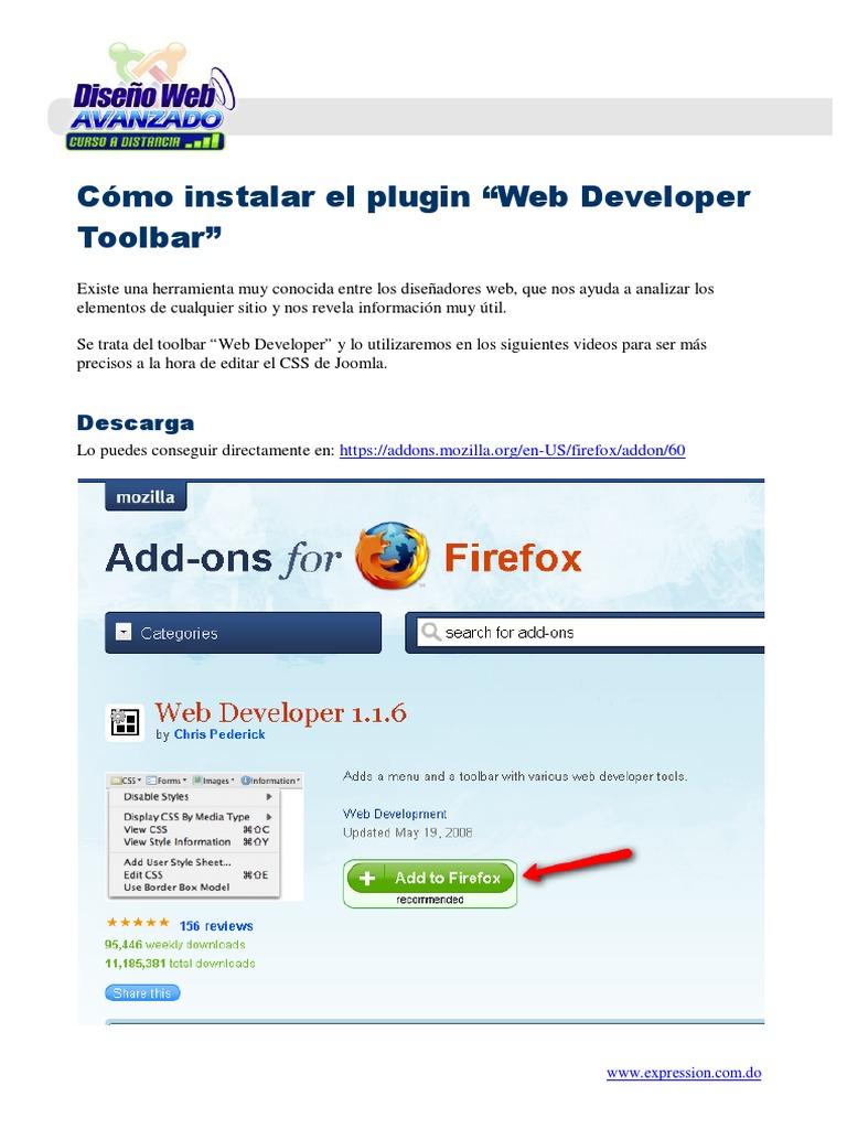 How to use scrapbook in firefox - D Web Avanzado Con Jmla Mod2 Instalar La Extensi N Web Developer Para Firefox