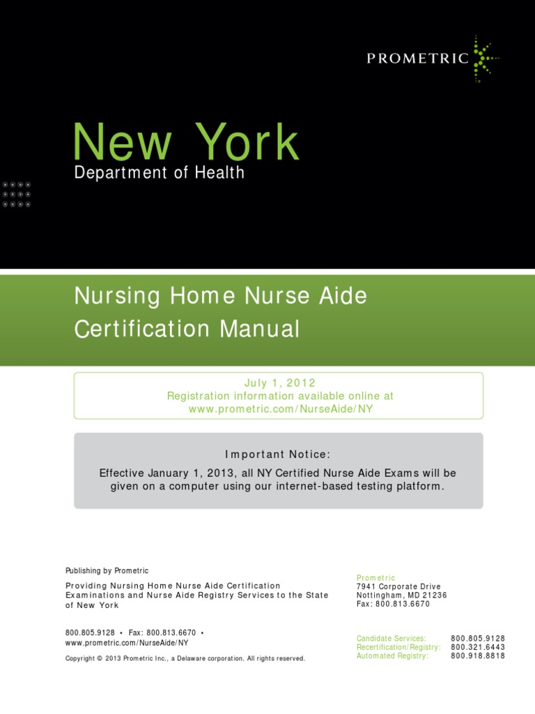 Prometric Nurse Aide Renewal Form Erkalnathandedecker