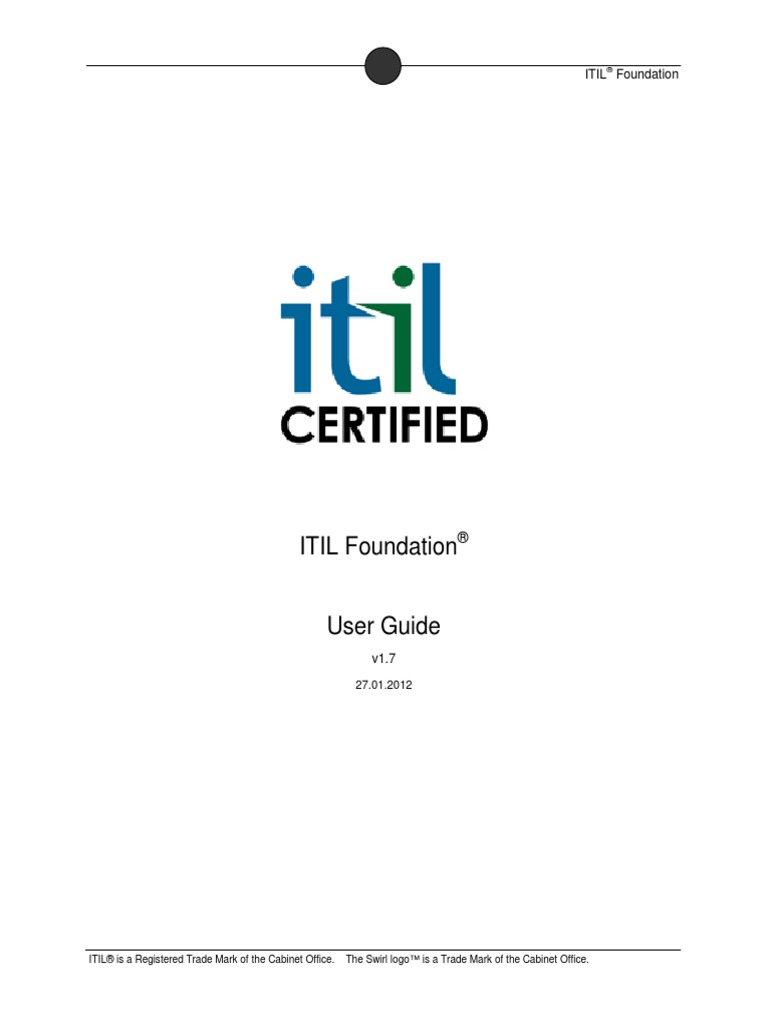 Download 14 Itil V3 Foundation Notes Last Minutes Revision Notes