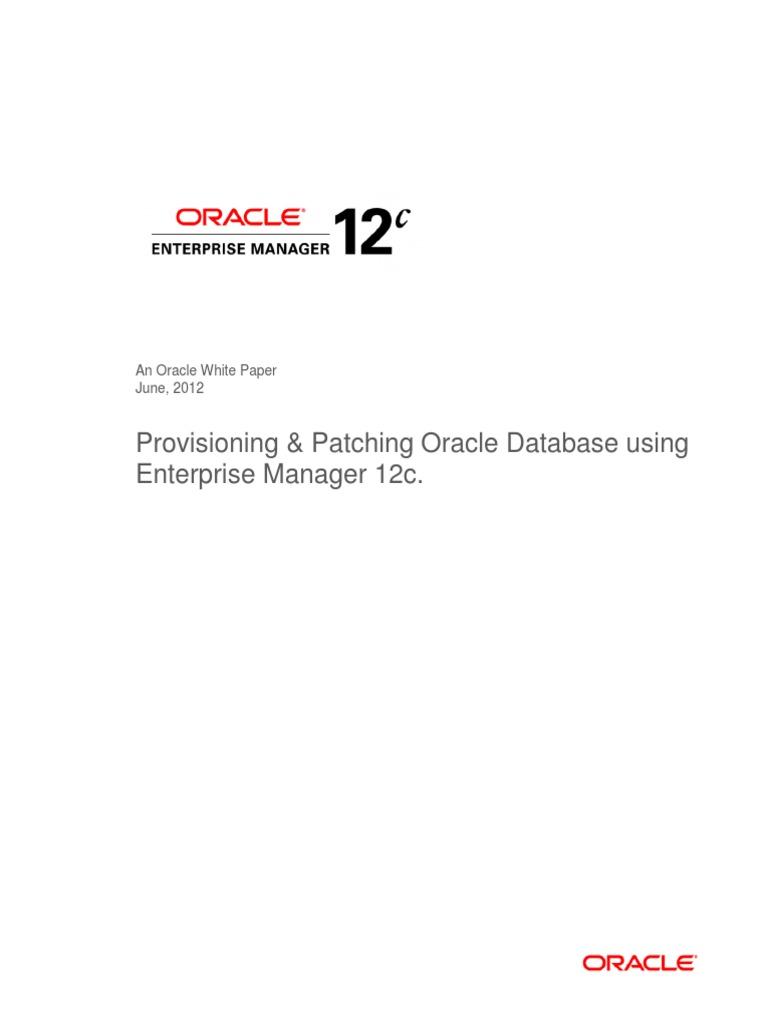 Download Oracle Enterprise Manager 12c  pdf - DocShare tips
