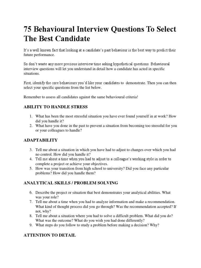 analytical problem solving interview questions