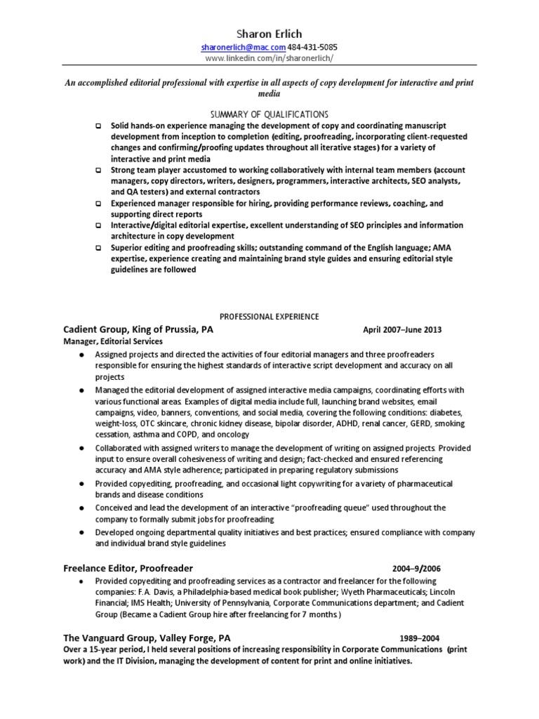 Download Proposal Manager Writer RFP in Philadelphia PA Resume ...