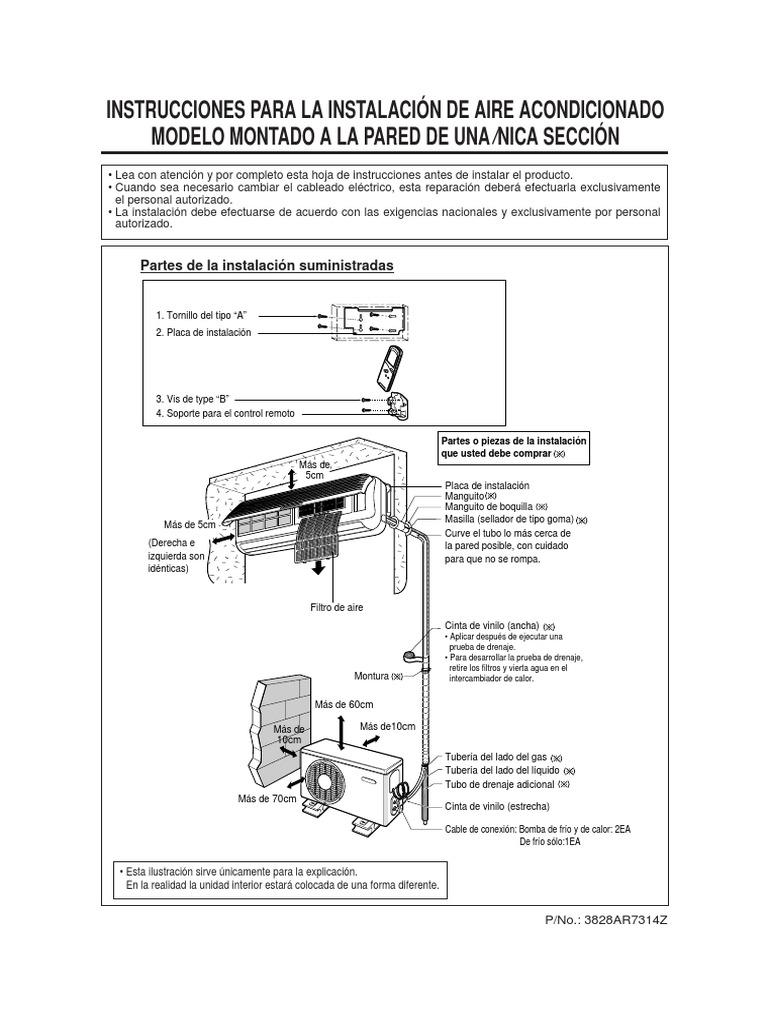 187 Manual De Instalacion De Minisplit Carrier