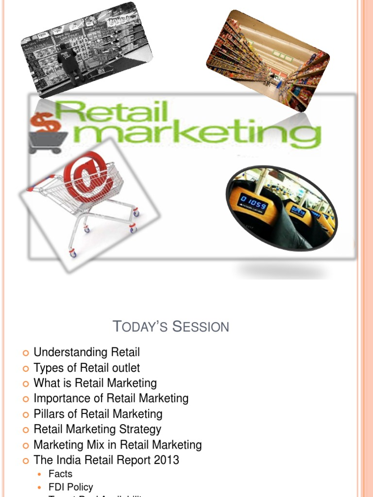 what is retail marketing mix