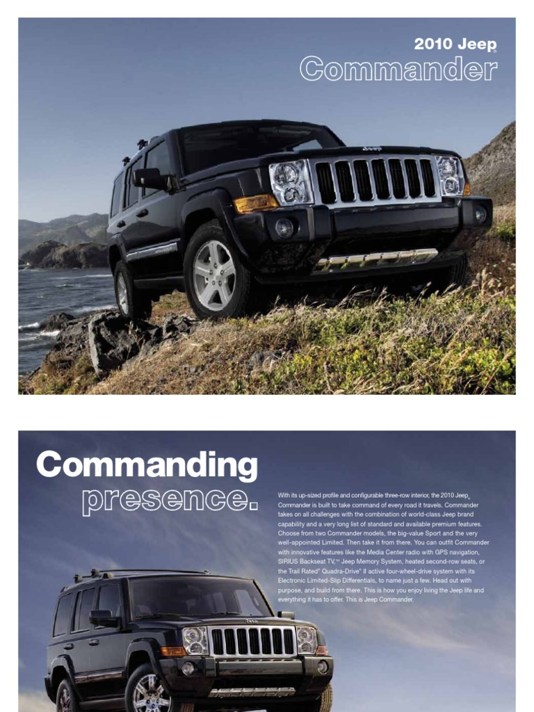 service manual  2008 jeep commander owners manual pdf